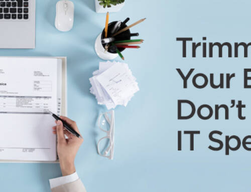 Trimming Your Budget? Don't Cut Your IT Spending!